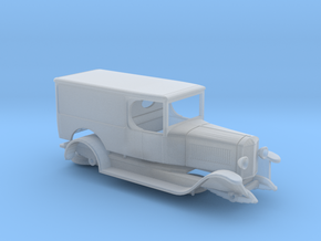 S scale 1:64 - Unic Panel Van 1922 in Smooth Fine Detail Plastic