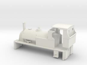 Fox Walker Shunter (for RTR 0-6-0 chassis) in White Natural Versatile Plastic
