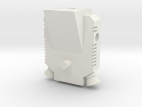 TF WFC Siege - Sideswipe Jetpack in White Natural Versatile Plastic