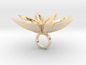 Floachi big - Bjou Designs in 14k Gold Plated Brass