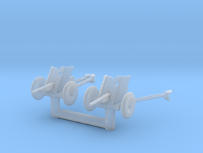 Pak 36 (2 pieces) scale 1/144 in Smoothest Fine Detail Plastic