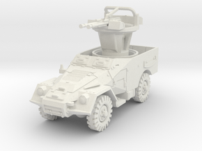 BTR 40 A scale 1/87 in White Natural Versatile Plastic