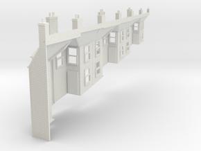 zps-76-152-terrace-house-backs in White Natural Versatile Plastic