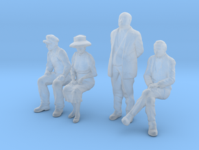 1:48 scale 4 figure pack WS in Smoothest Fine Detail Plastic