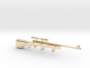 SniperRifle82Astralian in 14k Gold Plated Brass