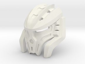 Great Mask of Intangibility in White Natural Versatile Plastic