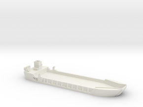 1/300 Scale LCT-5 in White Natural Versatile Plastic