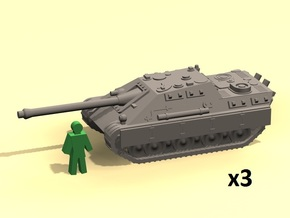 6mm Jagdpanther in Smoothest Fine Detail Plastic