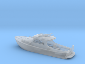 Yacht Ver01. 1:150 Scale in Smooth Fine Detail Plastic