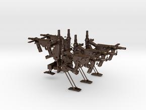 OstinMK2AustralianSMG1BbSET10 in Polished Bronze Steel