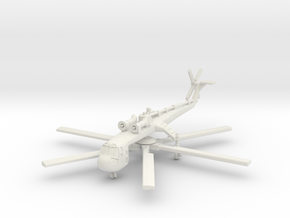 Sikorsky CH-54 Tarhe 1/200 in White Natural Versatile Plastic