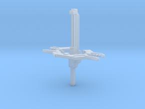 UNSC orbital defence platform in Smooth Fine Detail Plastic