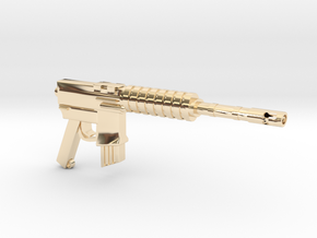 CAR15 COMMANDO FANTASTIC SMG in 14K Yellow Gold