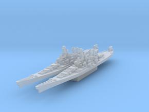 Iowa class battleship (Axis & Allies) in Smooth Fine Detail Plastic