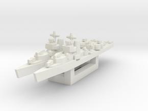 Benham class destroyer 1/2400 x2 in White Natural Versatile Plastic