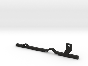 ThumbRail (Lefty)-fits Fender Precision in Black Natural Versatile Plastic