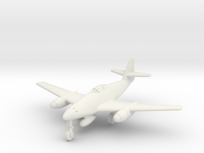 (1:144) Messerschmitt Me 262 Interzeptor III in White Natural Versatile Plastic