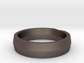 Saber in Polished Bronzed-Silver Steel: 6 / 51.5