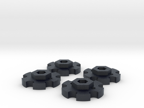 NutLockers for Jconcepts Tribute Wheels (for 7mm) in Black PA12