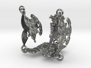 tihuanakaFINAL in Polished Silver (Interlocking Parts)