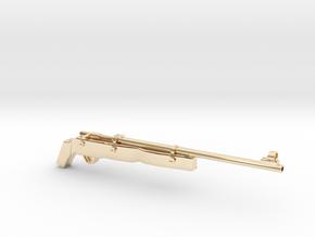 SAWED Rifle82 Australian in 14K Yellow Gold