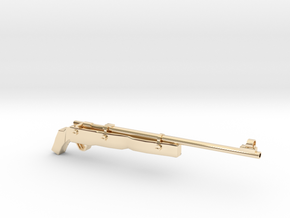 SAWED Rifle82 Australian in 14k Gold Plated Brass