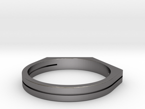 Place Ring in Polished Nickel Steel