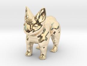 Leopabbit Minuscule Solid in 14K Yellow Gold