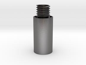 Shake it! Earring Bottom in Polished Nickel Steel