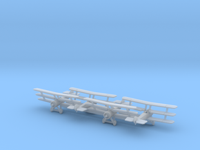 Sopwith Triplane (Various Scales) in Smooth Fine Detail Plastic: 6mm