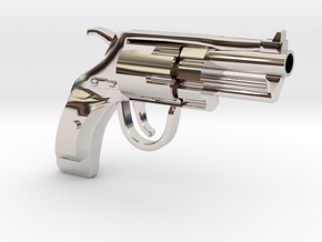 Revolver SUBNOSE in Platinum