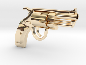Revolver SUBNOSE in 14k Gold Plated Brass