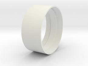 Beadlock Support 02 in White Natural Versatile Plastic