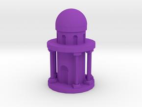Roman Cathedral in Purple Processed Versatile Plastic