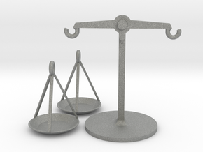 Weighing scales in Gray Professional Plastic