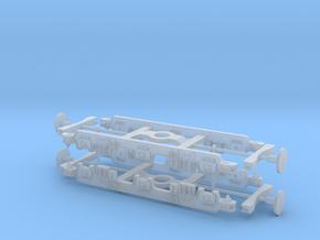 LMS 10000 Bogie Frames 1/148 in Smooth Fine Detail Plastic