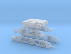 MetroVick Class 28 CoBo Farish Underframe/bogie in Smooth Fine Detail Plastic