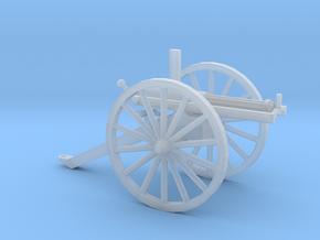 1/48 Scale Civil War Gatling Battery Gun in Smooth Fine Detail Plastic