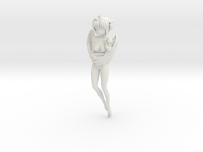 1/12 Sakura Angel Version with Kero Chan in White Natural Versatile Plastic