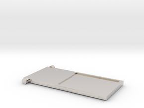 Flip n' Pay Tray in Platinum