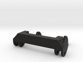 SCX10 Leaf Spring Combo in Black Natural Versatile Plastic