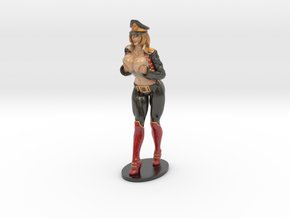 Major Kyra Figurine  200mm in Glossy Full Color Sandstone