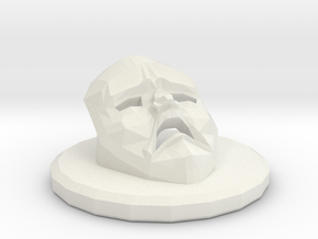 Betrayal At House On The Hill Omen - Mask in White Natural Versatile Plastic