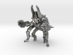 Pacific Rim Onibaba Kaiju Monster Miniature in Natural Silver