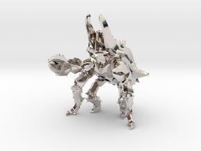 Pacific Rim Onibaba Kaiju Monster Miniature in Platinum