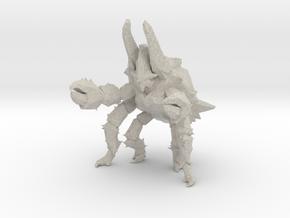 Pacific Rim Onibaba Kaiju Monster Miniature in Natural Sandstone