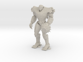 Pacific Rim Titan Redeemer Jaeger Miniature in Natural Sandstone
