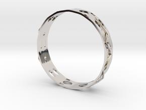 Gold Ring in Platinum
