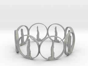 7 ring in Aluminum