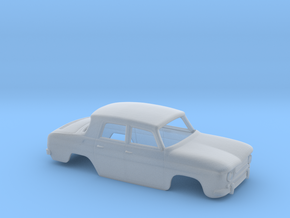 Dacia 1100 (Renault 8) Body Scale 1:120 in Smoothest Fine Detail Plastic